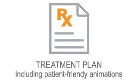 TREATMENT PLAN  including patient-friendy animations